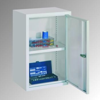 stahl h ngeschrank 2 vollblecht ren 600x800x300 mm hxbxt lichtgrau. Black Bedroom Furniture Sets. Home Design Ideas